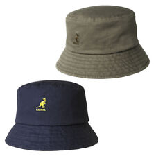 Kangol 100% Cotton Retro Washed Bucket Hat