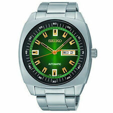 New Seiko Recraft Green Dial Stainless Steel Automatic Men's Watch SNKM97