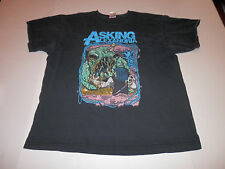Asking Alexandria Tee T-Shirt Black Graphic Size X-Large
