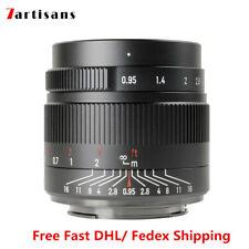 7artisans 35mm F0.95 Large Aperture Portrait Lens For Sony E EOS-M M43 Nikon Z X