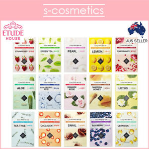 [ETUDE HOUSE] 0.2 Therapy Air Mask (1, 3 or 5 sheets) 22 Types Choose Your Own