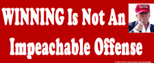 GOP Pro Trump Anti Democratic Party Bumper Sticker Funny