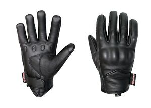 Motorbike Touch Screen Gloves Motorcycle Short Style A Grade Goat Leather Gloves
