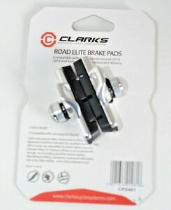 Clarks Road Elite Brake Pads for Campagnolo Record 2014, 2013 and before Record,
