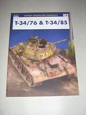 Modelling Manuals: T-34/76 and T-34/85 16 by Osprey (2001, Paperback)