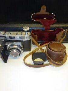 Vintage Kodak Retina III C Cased Camera With Schneider-Kreuznach f2.0/50mm Lens