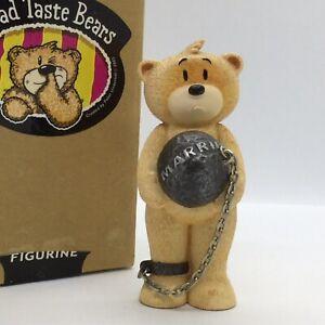 🖤 'BAD TASTE BEARS' FIGURINE 'SHACKLETON' BOXED!