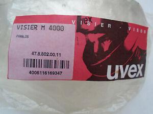 UVEX Visier für M 4000, 47.8.802.00.11, Klar / Farblos