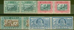 South Africa 1938 set of 4 SG76-78 V.F Very Lightly Mtd Mint