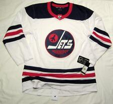 WINNIPEG JETS - size 50 = sz Medium - HERITAGE Classic ADIDAS NHL HOCKEY JERSEY