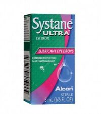 2 X Systane Ultra Lubricant Eye Drops ALCON  5ml Exp 2020