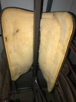 big horn Draft  saddle. 16 Inch Seat 8 Inch  Gullet