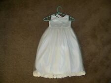 Us Angels Dress ~ Size 5 ~ White Bodice & Skirt ~ Special Occasion Dress
