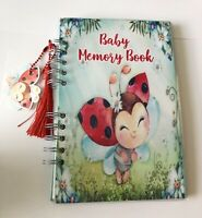 Baby Journal, Baby Book, Baby Journal And Memory Book, Ladybug