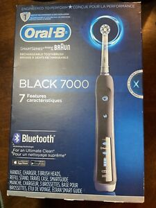 Oral-B Pro Black 7000 SmartSeries Power Rechargable Electric Toothbrush