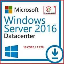 Windows Server 2016 DATACENTER 64 bit Digital License Key (Cheap)@+@=!