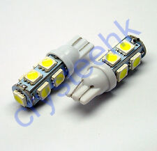 100 x T10 194,168,2825, 9 x 5050 SMD LED White Super Bright Car Lights Lamp Bulb
