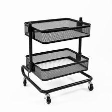 bremermann® Universal-Rollwagen schwarz mit 2 Ablagekörben
