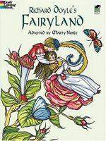 Richard Doyles Fairyland (Dover Art Coloring Book) by Richard Doyle