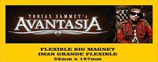 AVANTASIA FLEXIBLE BIG MAGNET IMAN GRANDE A038 Tobias Sammet
