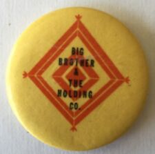 1960's Big Brother And The Holding Co,  Janis Joplin,  Yellow Button