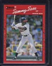 1990 Donruss Baseball Complete Set of (716) Different Cards Sammy Sosa RC NM+