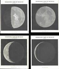 1845 Bradford Views of the Moon