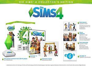 Die Sims 4 Hauptspiel Collector's Edition  **PC NEU OVP SELTEN
