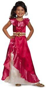 NEW Disney Elena Of Avalor Girls Costume Cosplay Dress Size Medium (7-8)