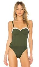 NEW Friends & Lovers MO BODYSUIT Green Sm #68902