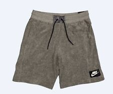 Nike Sportswear French Terry Shorts Carbon Grey Heather AR1860 Medium