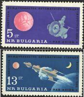 Bulgarien 1366-1367 (kompl.Ausg.) gestempelt 1963 Start sowjet. Marssonde Mars 1