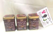 3 Piezas Almizcle Negro de Pakistan - Perfume Oriental Solido - Musk Black 25gr.