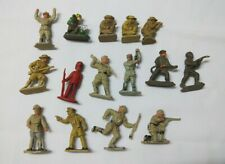 15 Assorted plastic toy soldiers Lone Star Harvey Series