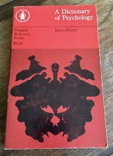 A Dictionary of Psychology by James Drever, Paperback, Revised edition, 1965