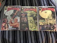 the movie Flash Gordon part 1, 2, & 3 comic series