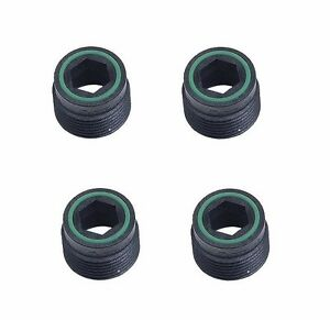 For VW Cabriolet Corrado Fox Set of 4 Fuel Injector Sleeve RPM 037133555A