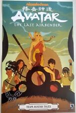 SIGNED NEW AVATAR The Last Airbender TEAM TALES EXCLUSIVE 2018 NYCC POSTER