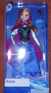 Puppe, Barbie ähnlich, Disney, Anna, Frozen, Eiskönigin, Disneystore, OVP, NRFB