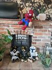 Build A Bear Batman Spiderman Star Wars Bundle Plush Soft Toy With Outfits X4