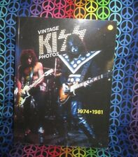 Rare Vintage KISS Photos Book, 1974- 1981, Unauthorized, Not Aucoin in any way.