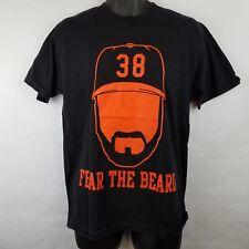 Fear The Beard Brian Wilson San Francisco Giants T-shirt Medium