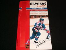 1986-87 Pro-Sport Autograph Card °EDMONTON OILERS  #11, MARK DOUGLAS MESSIER <>