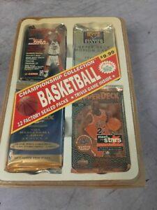 Championship Basketball Unopened SEALED Wax Box - NBA 12 Packs 1996-97 Kobe?