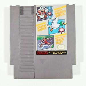 ©1985 NES Nintendo Entertainment System SUPER MARIO BROS/DUCK HUNT/TRACK MEET us