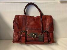 FRYE Cameron Distressed Leather Satchel Handbag Shoulder Bag Messenger