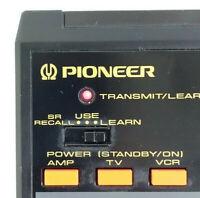 Pioneer AV Programmable CU-SA004 Remote Control SA1310S SA1290S SA1490 FOR PARTS