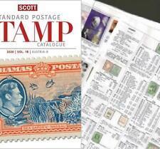 Bolivia 2020 Scott Catalogue Pages 445-484