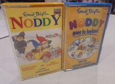 Noddy Cassette Tapes Noddy goes to toyland, Noddy goes to school Gnid Blyton