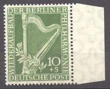 Berlin, 1950 Philharmonic Hall, MNH margin set, no faults, superb